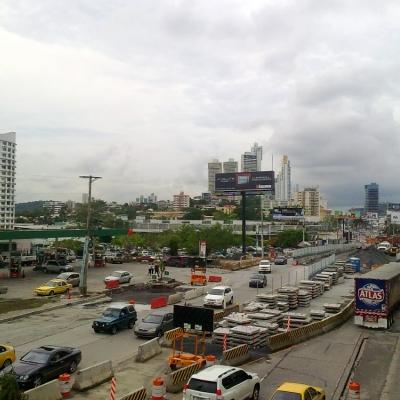 Одинокое гуляние по Панама Сити