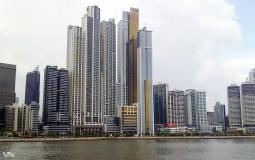 Необычные небоскребы на берегу океана в новом Панама Сити