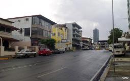 Обычный квартал между новым и старым Панама Сити