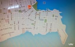 Карта старого города Панама Сити и мой отель