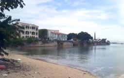 Панорамный снимок с побережья старого  города Панама Сити