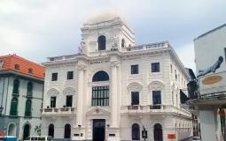 Гос. здание колониального стиля в старом городе Панама Сити