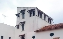 Жилой сектор монастыря в старом городе Панама Сити