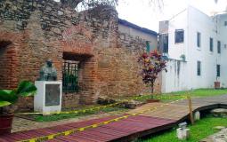 Остатки стены церкви в старом городе Панама Сити