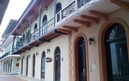 Отреставрированная улица старого города Панама Сити
