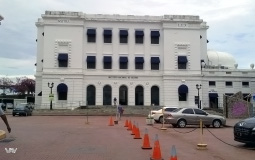 Национальный институт культуры в чистом месте старого города Панама Сити