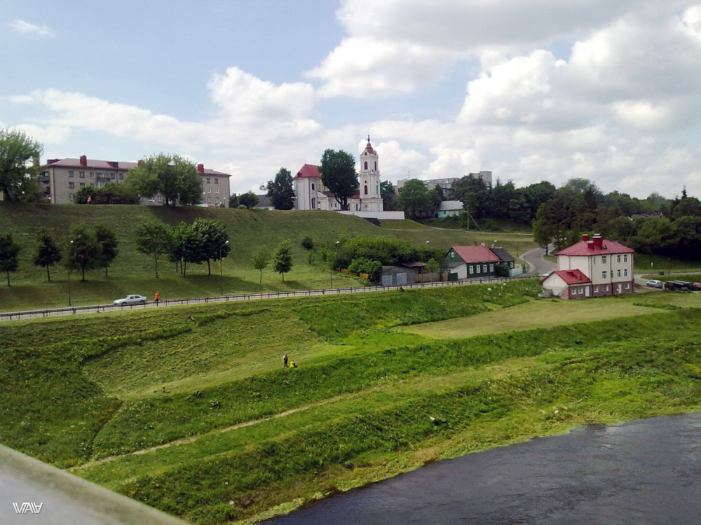 The landscape of my hometown from which my journey to South America started. Hrodna, Belarus