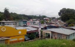 """По-нашему """"частный"""" район в Панама Сити."""