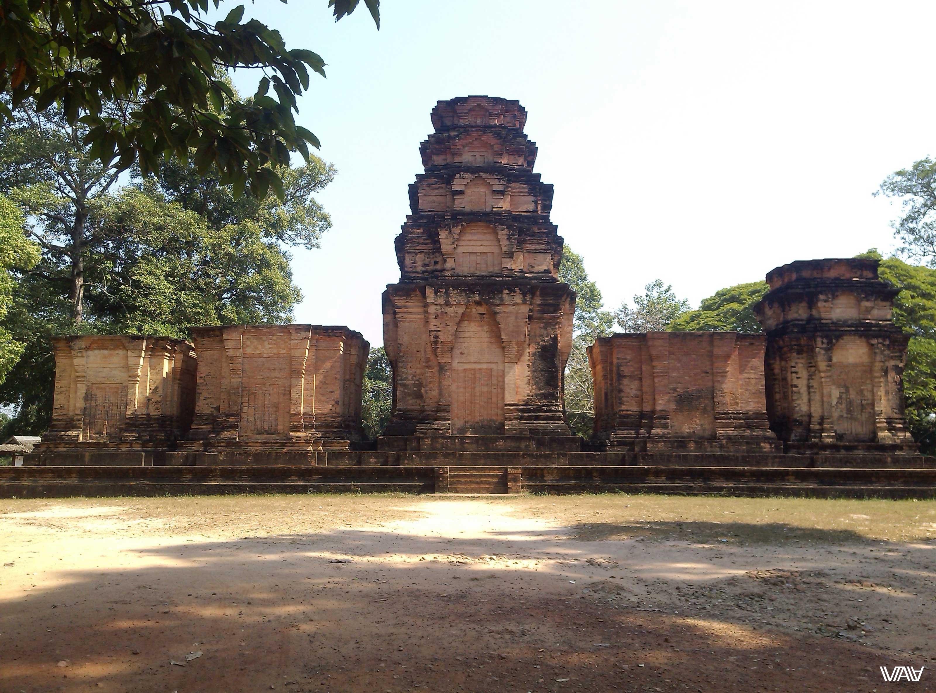 Ну, понеслась... Камбоджа, священный город Ангкор, храм Прасат Краван