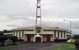 The main church of the Panamanian town David.