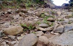 Такая горная дорога у меня тоже первая в жизни. Кальдера Хот Спрингс, Панама