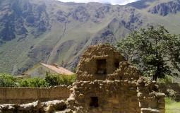 Двухэтажный коттедж древней знати. Шиковали как могли. Ойантайтамбо, Перу