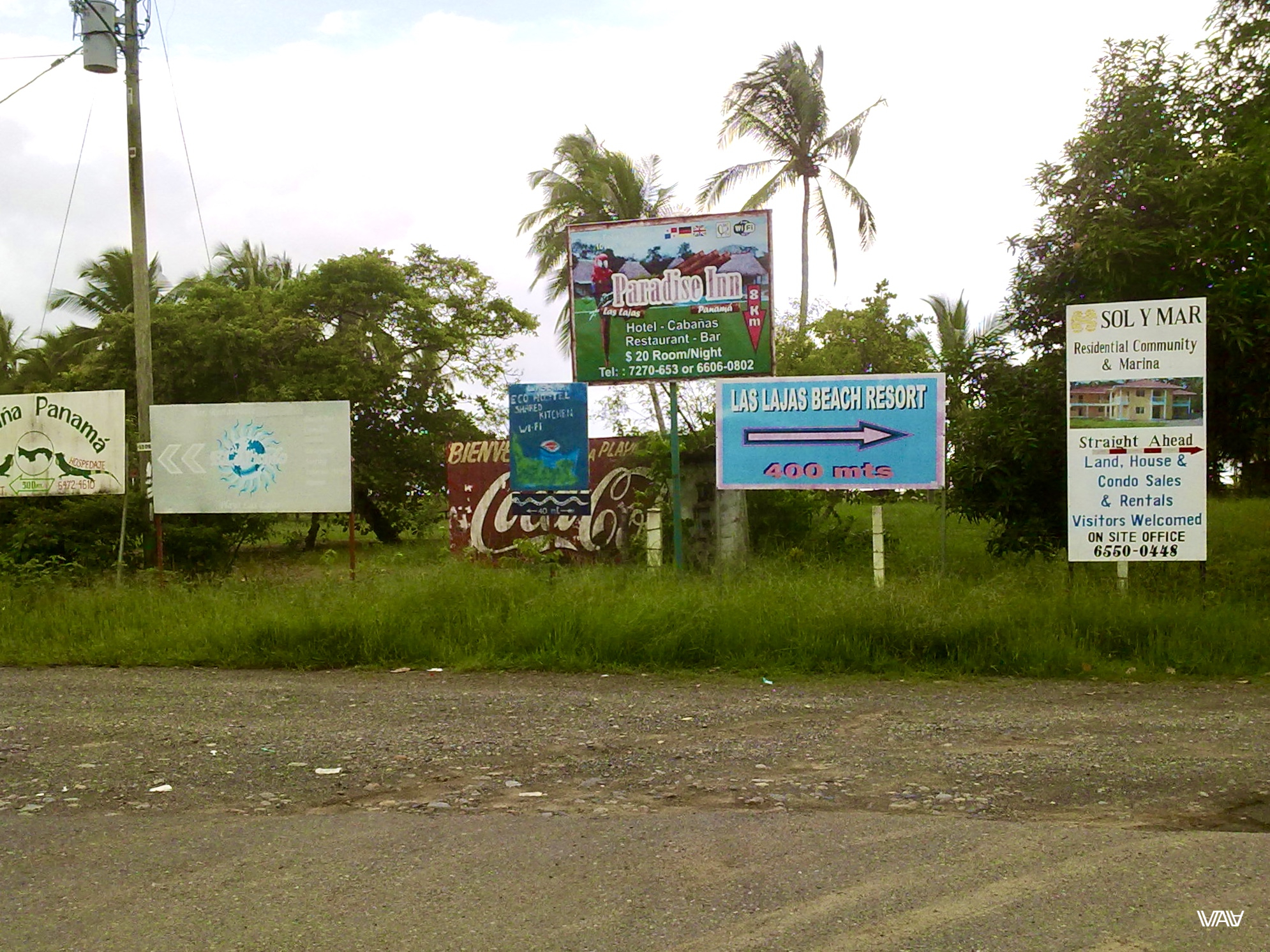 Пляжный бизнес :) Лас Лахас, Панама