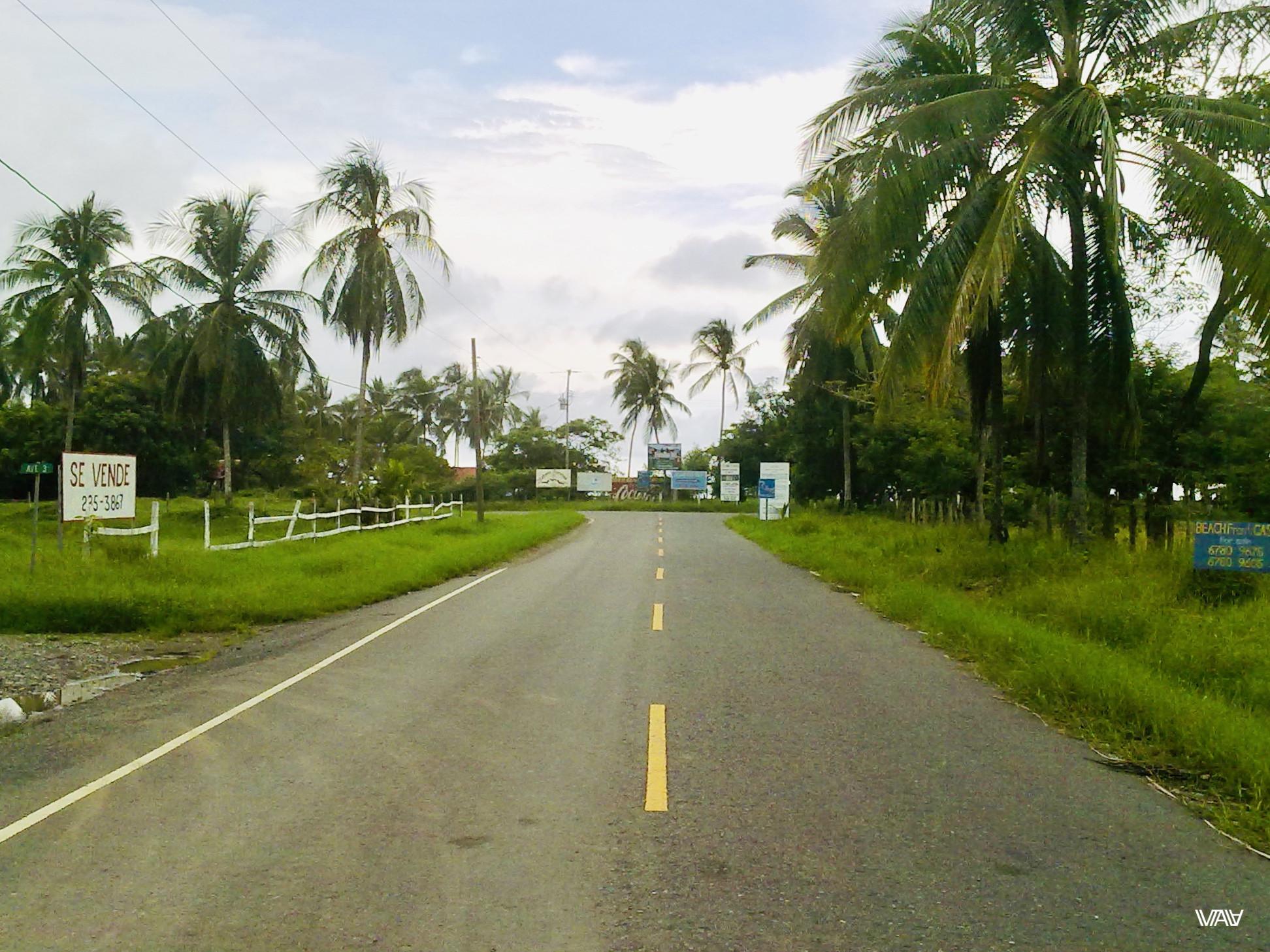 Дорога к океану. Лас Лахас, Панама