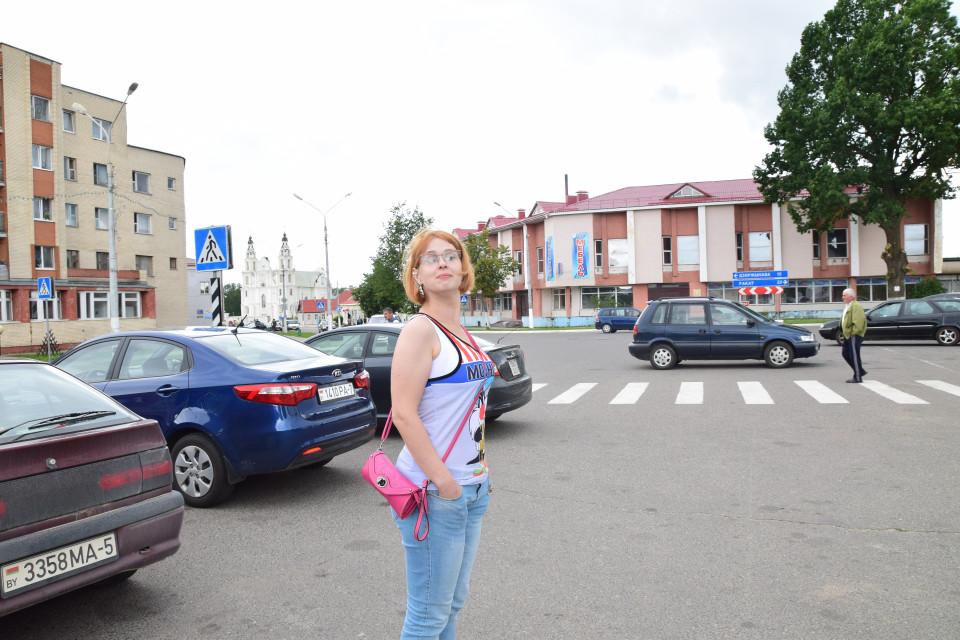Звезда веселенькой поездочки в Несвиж. Где-то под Минском, Беларусь