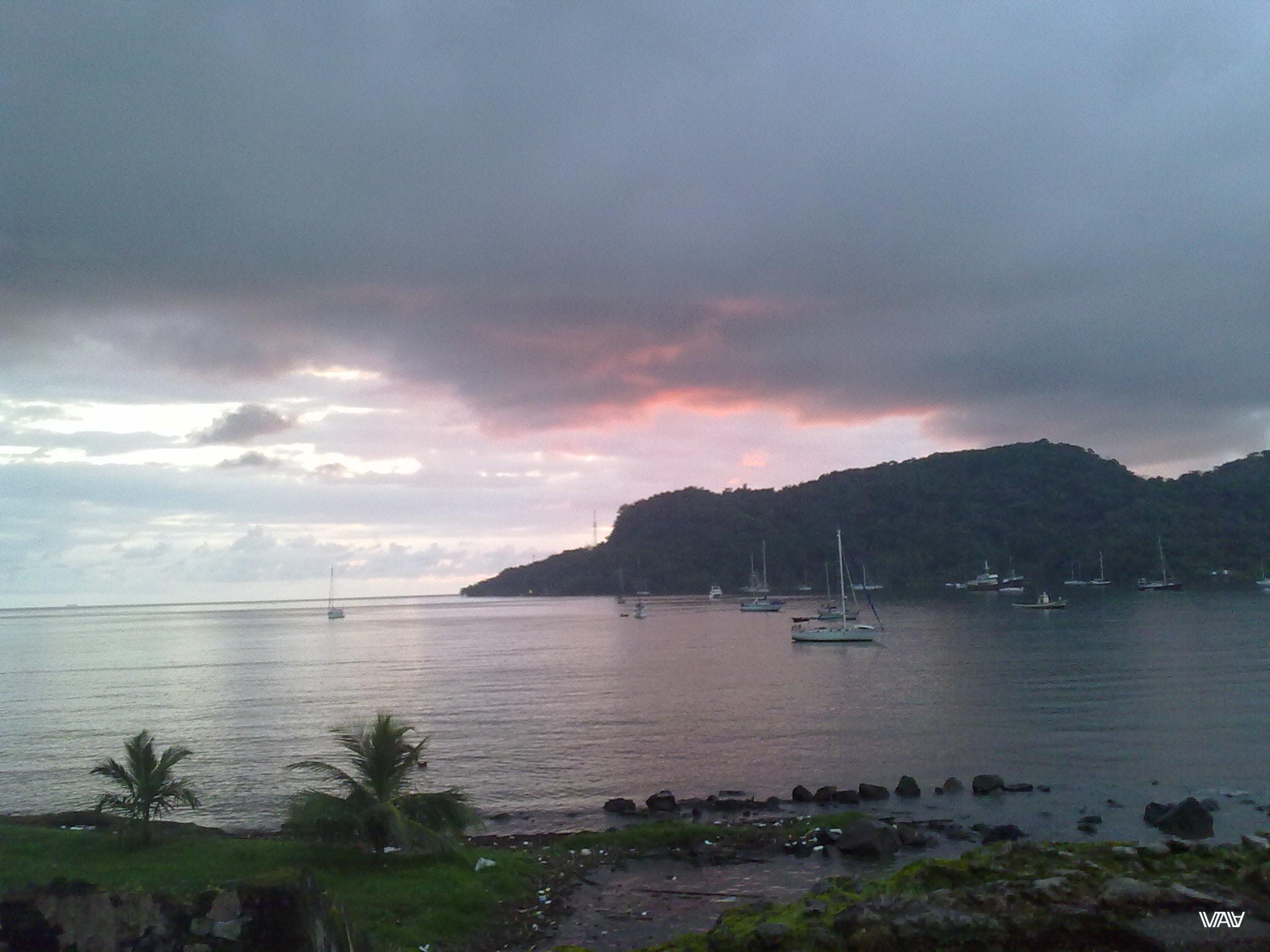 Яхты і Карыбскае мора. Якім жа цудоўным можа быць наша жыцце! Портобело, Панама