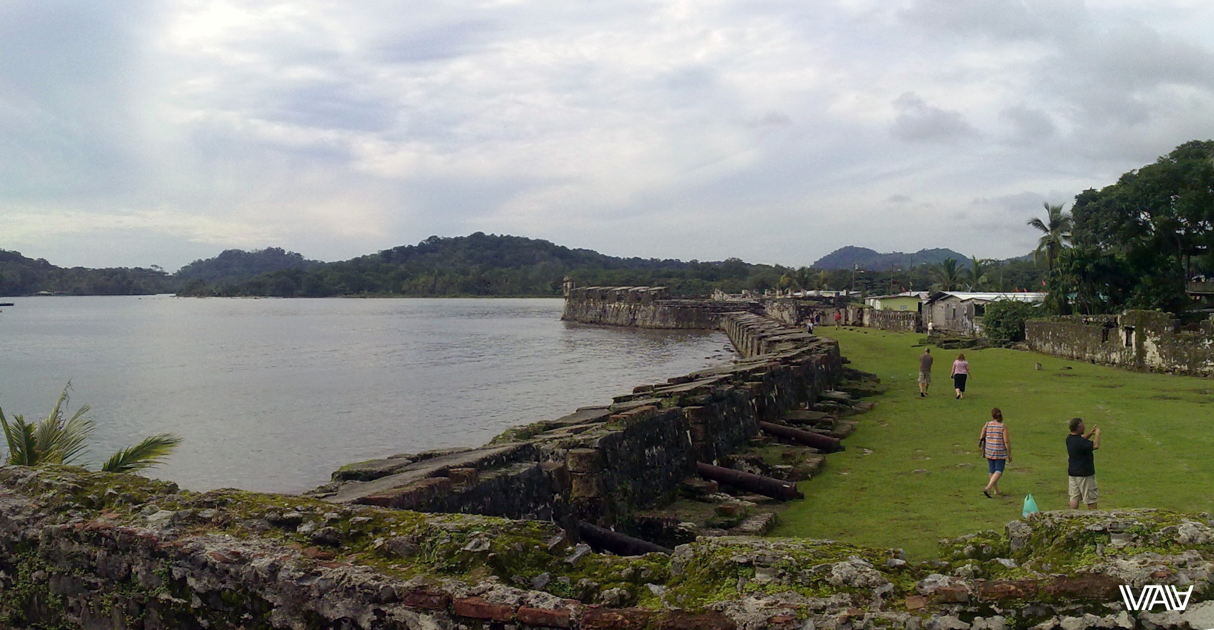 Portobelo is famous among tourists because of its fort. Portobelo, Panama