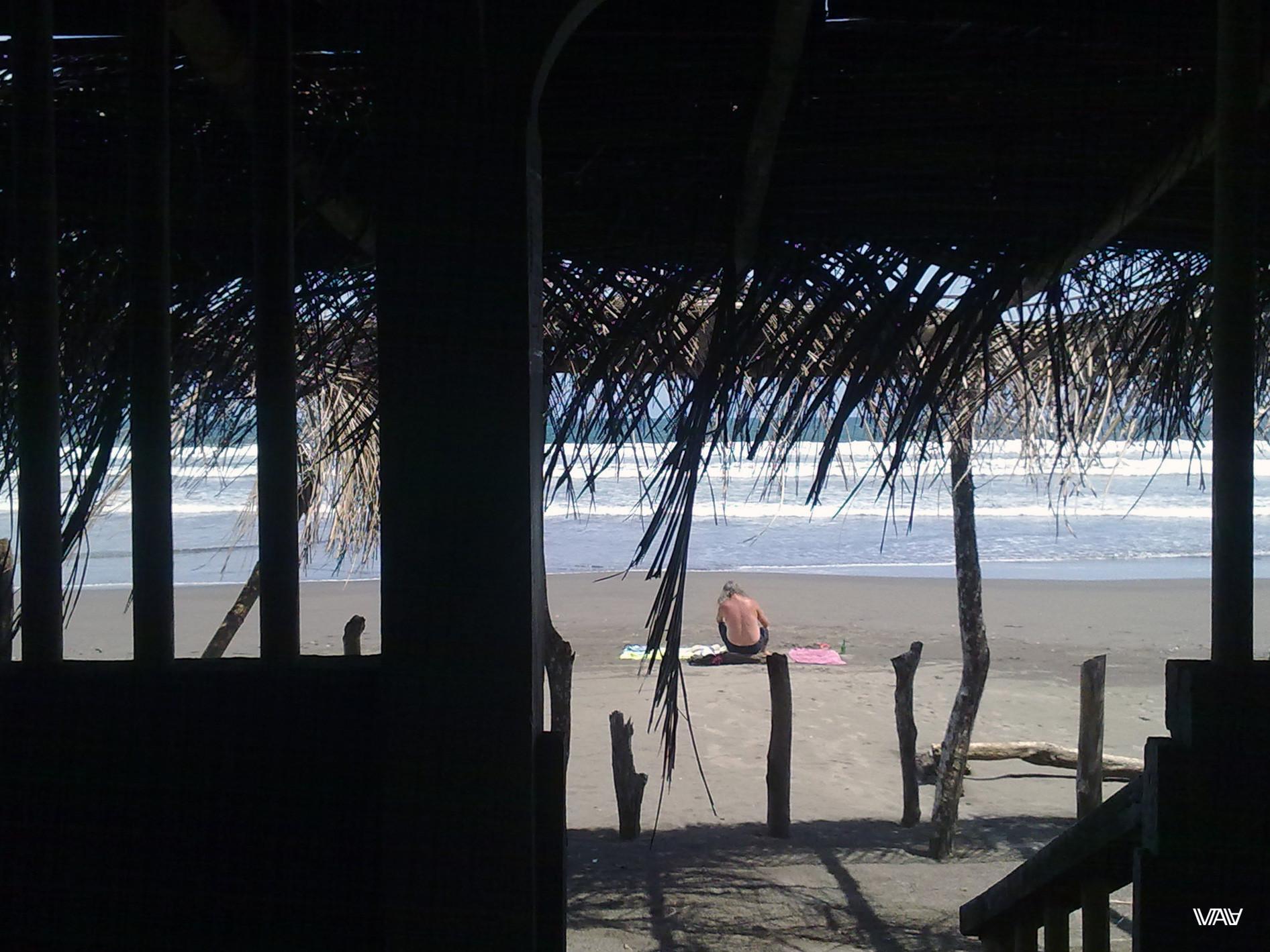 Винс рестораны не признавал даже на пляже) Лас Лахас, Панама