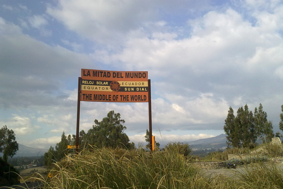 La Mitad del Mundo means the Centre of the World. In 2013 I wanted to visit equator and I did it!