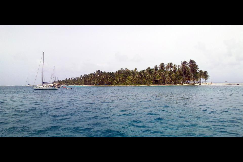 Райское чувство небывалой красоты охватывает всю небольшую команду нашей яхты. Остров Кайос Чичиме, Архипелаг  Сан Блас, Панама
