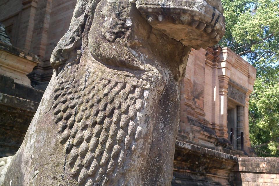 Священный охранник. Прасат Краван, Ангкор, Камбоджа