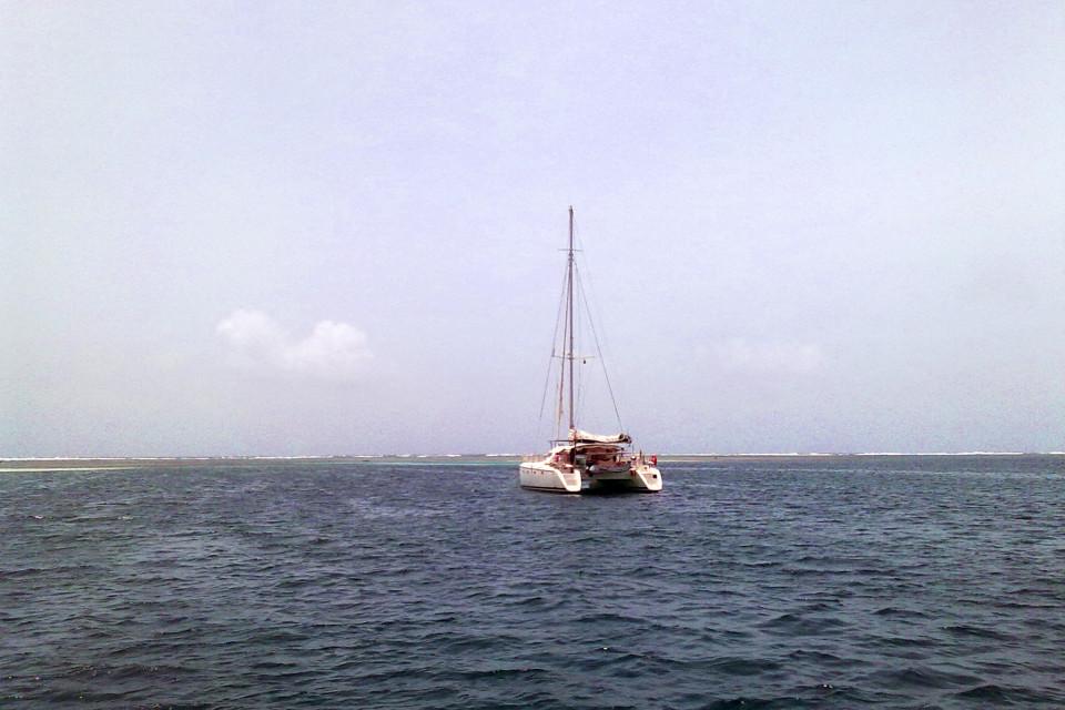 The most common transport here. Cayos Chichime Island,  San Blas Archipelago, Panama