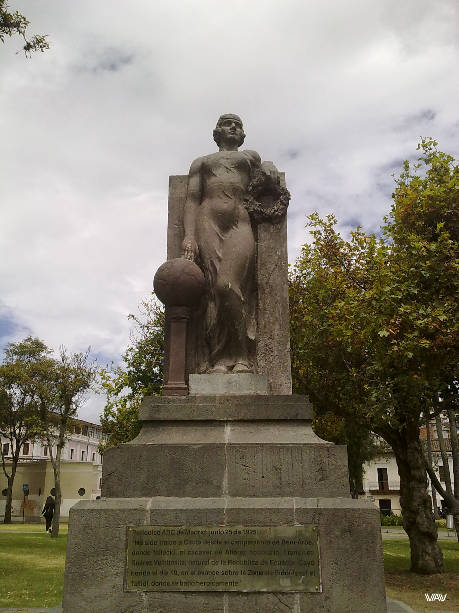 I believe it is a monument in honor of Mother-Nature. Quito, Ecuador