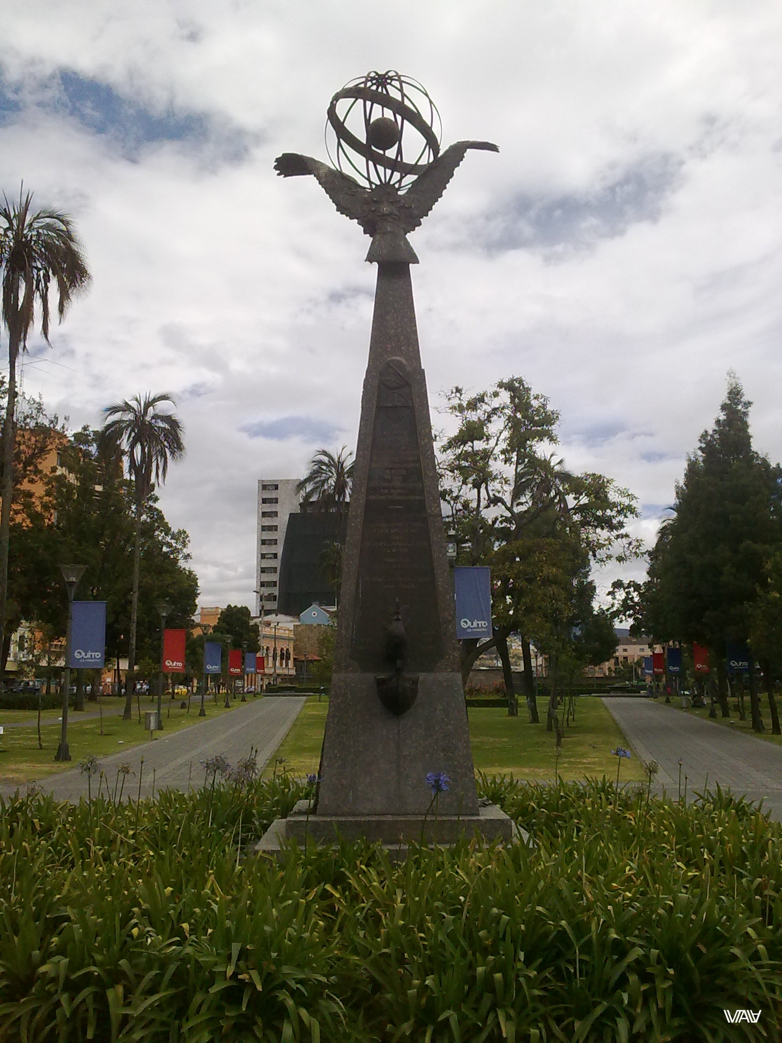 Something about equator :) Quito, Ecuador
