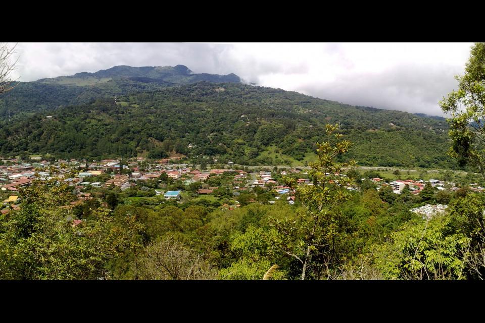 Small beautiful city. Bajo Boquete, Panama