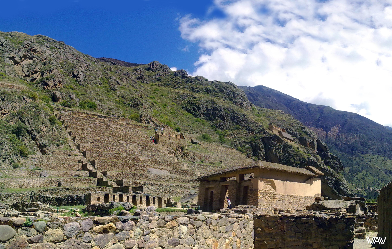 Древние инки очень любили жить не просто среди гор, а практически внутри них. Ойантайтамбо, Перу