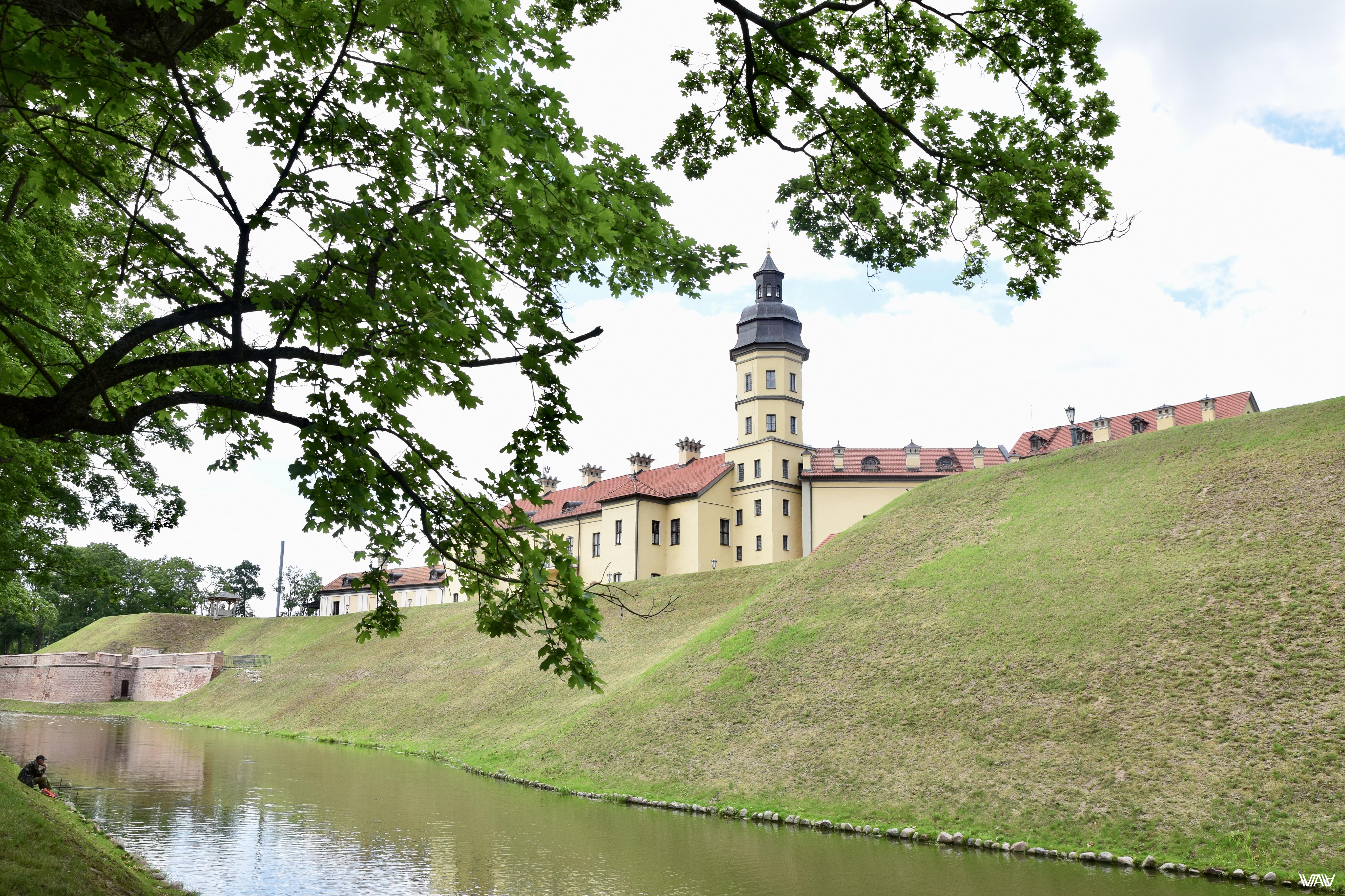 Невысокая башенка для беларуской принцессы. Несвижский замок, Несвиж, Беларусь
