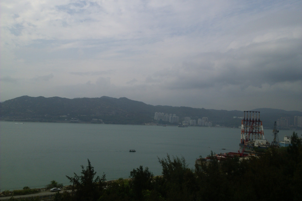 That was the first thing I saw on the way from the airport to the city centre. My heart fluttered with love! Hong Kong, China