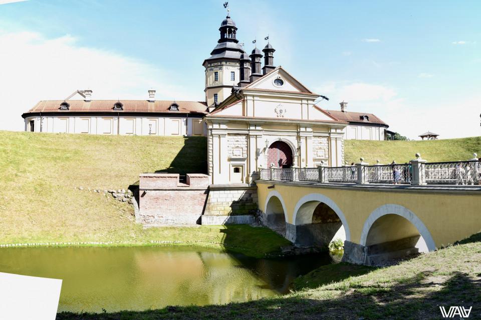 Мост и единственный вход. Несвижский замок, Несвиж, Беларусь