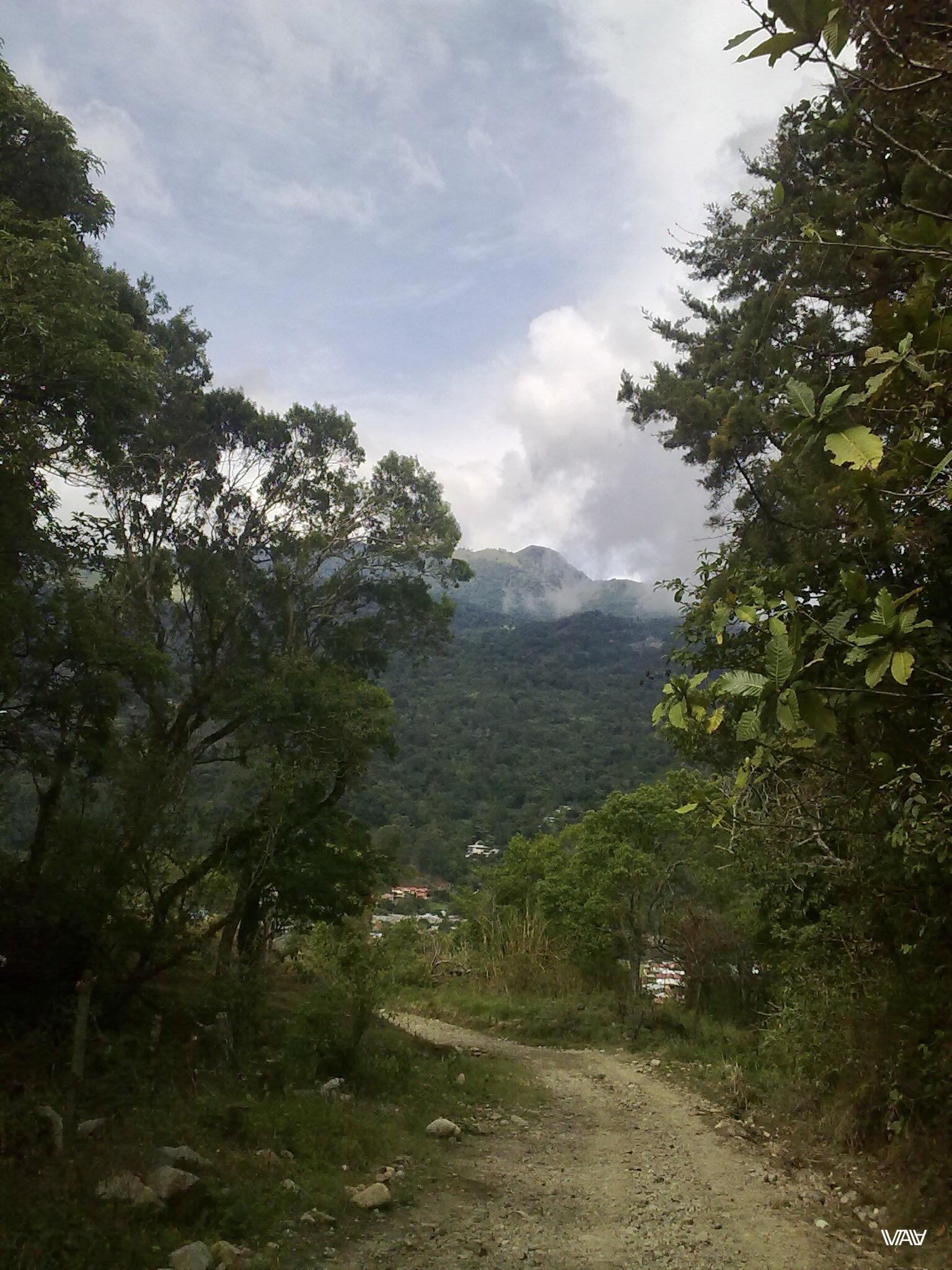 В долине между гор и живет славный город Бахо Бокете, Панама