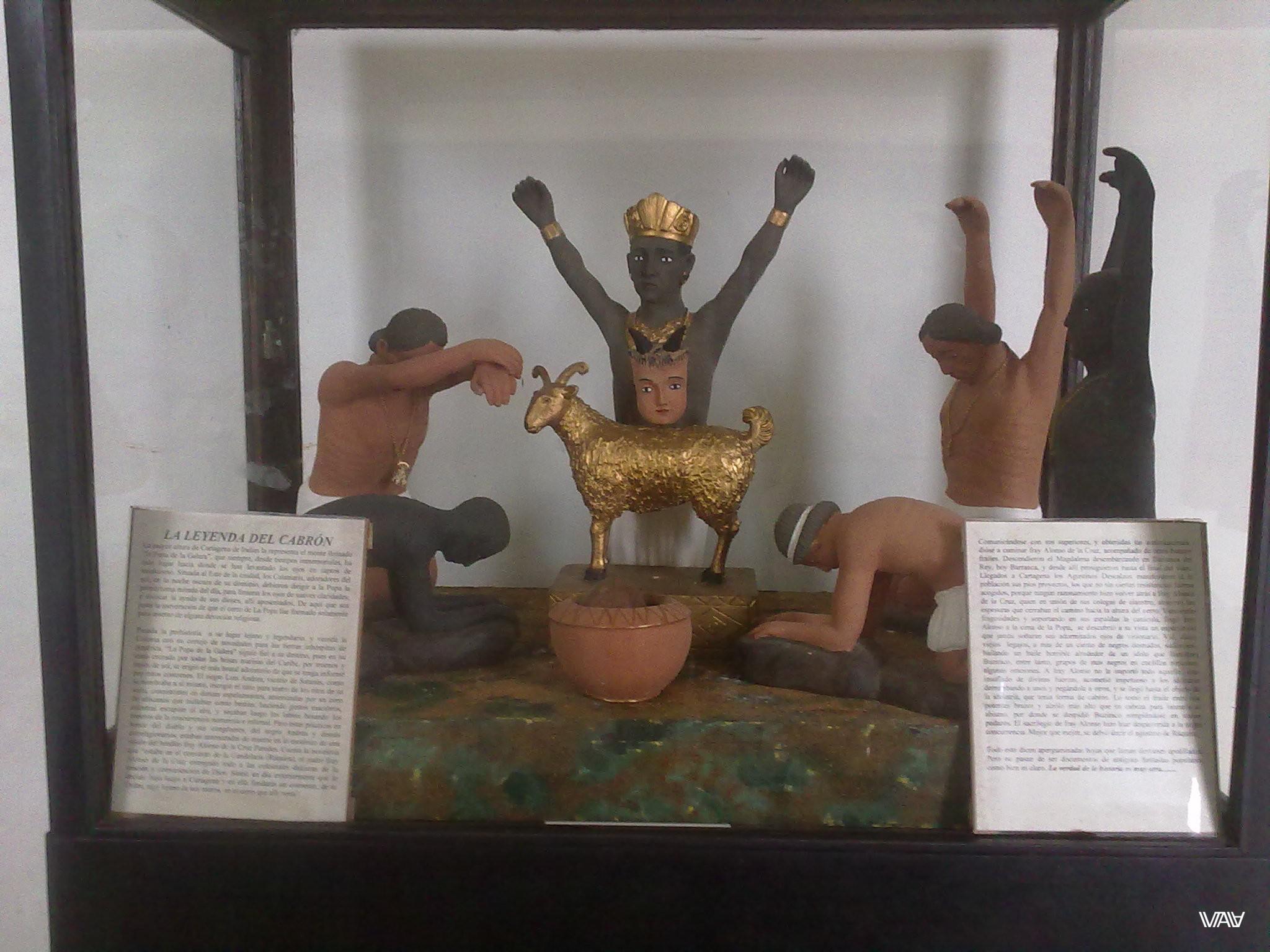 Легенда о тупице... Неожиданный поворот :D Монастырь Папы, Картахена, Колумбия