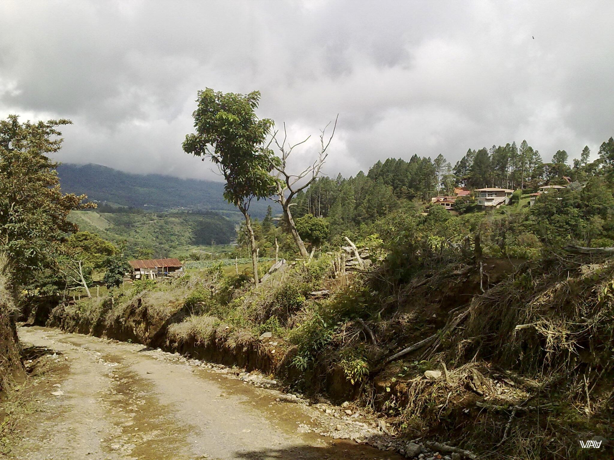Горно-облачные пейзажи Бахо Бокете, Панама