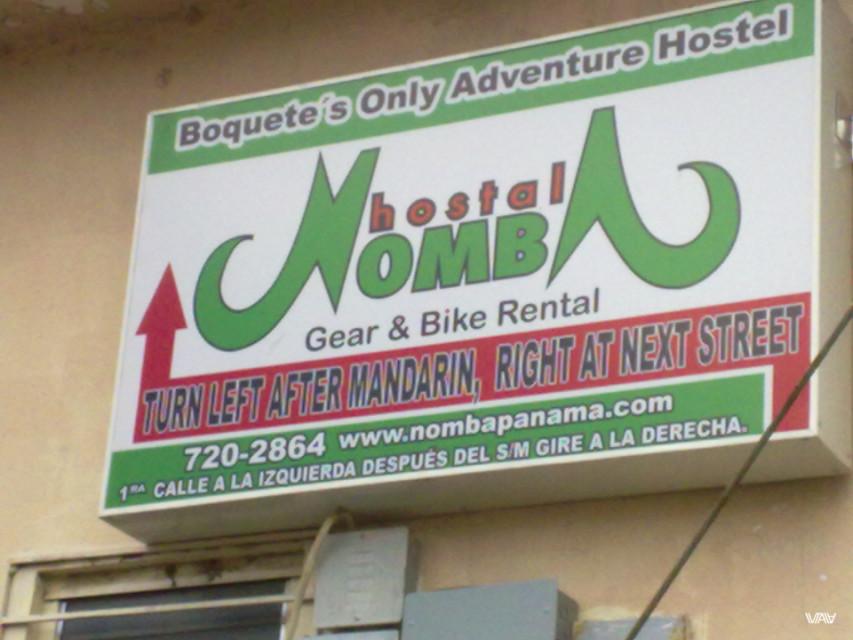Хостел Номба (Nomba) не только хорош, но и берет на работу путешественников. Так сказать за койку и еду. Бахо Бокетэ, Панама