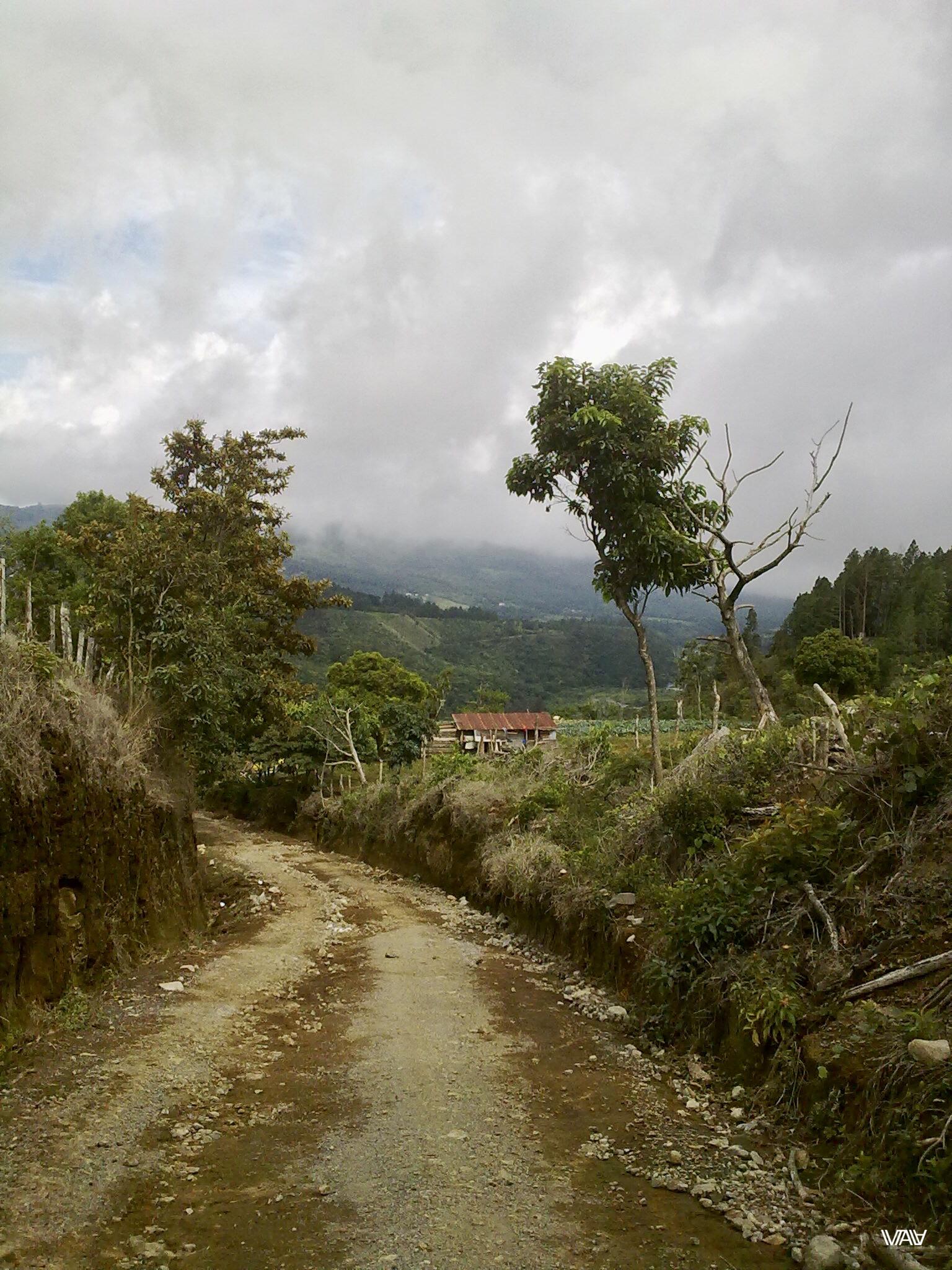 Фермерский домик между вулканов. Бахо Бокете, Панама