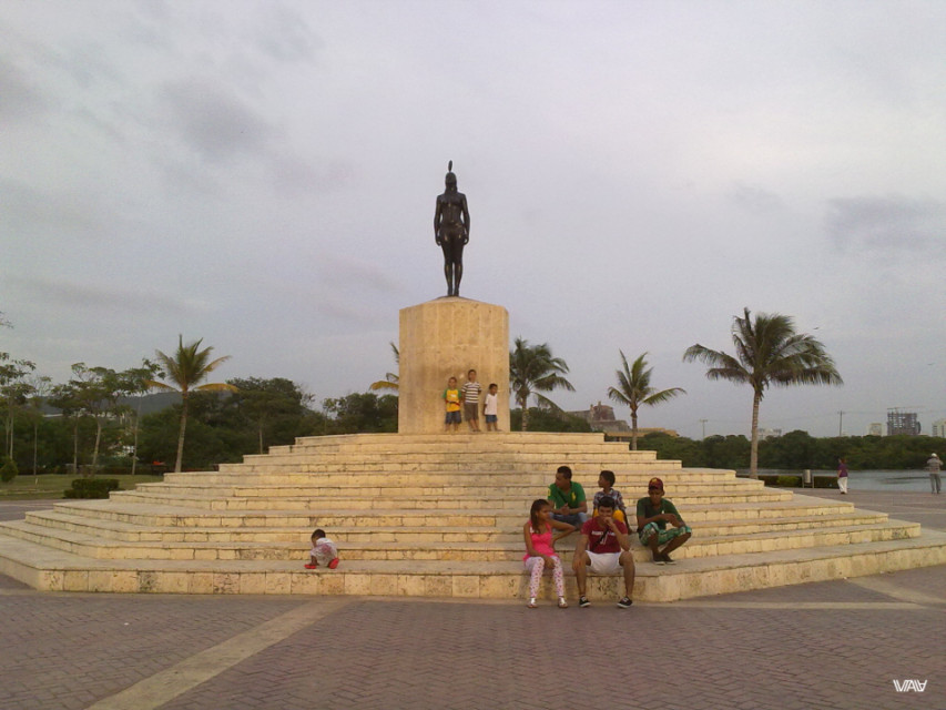 First day in Colombia, in the city Cartagena.
